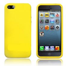 SILICONE CASE FOR IPHONE 5 /5s YELLOW